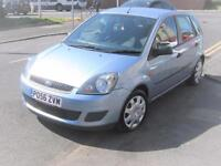 56 PLATE FORD FIESTA 1.4 FIVE DOOR STYLE CLIMATE