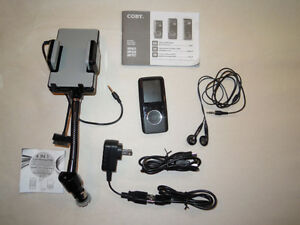 Coby Vidio & MP3 Player With 2 Extras