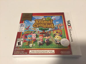 Animal Crossing 3ds NEW