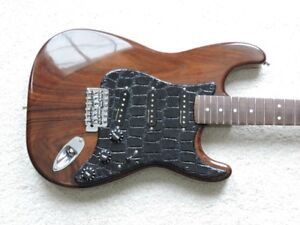 Guitars-Brazil all Rosewood Stratocaster guitar for sale