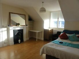 Bright, large double room for one