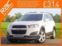 2013 Chevrolet Captiva 2.2 VCDI Turbo Diesel 184 BHP LTZ 7-Seater Start/Stop Sat