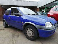 1996/P Vauxhall Corsa 1.4i Automatic LS 3 Door Sunroof Power Steering Rare Car