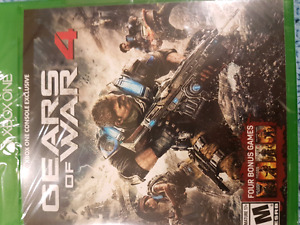 Gears of war 4 unopened $50