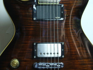 Left hand Schecter Diamond Series with EMGs