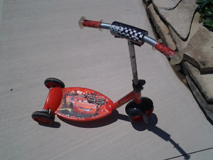 Scooter kids lightning McQueen