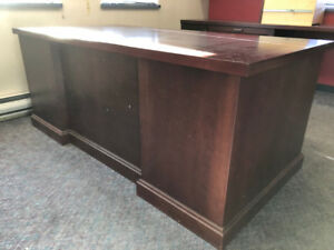 Solid Wood Office Desk In Great Condition