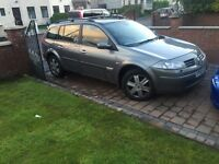 NOVEMBER 2005 RENAULT MEGANE SPORT TOURER 1.5 dci estate DIESEL
