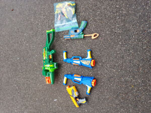 LIKE NEW NERF GUNS - $75 for all. Call 519 771 7285