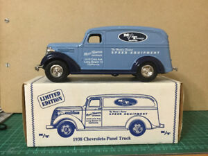 Ertl Eastwood 1938 Chevy Panel Truck Diecast Bank.