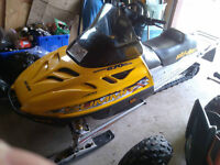 "1999 Skidoo Summit 670X w 151"" track kit"