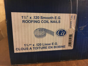 "1 ¼"" x .120 Roofing Coil Nails"