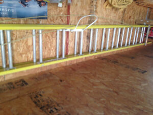feather lite 30 foot ladder for sale