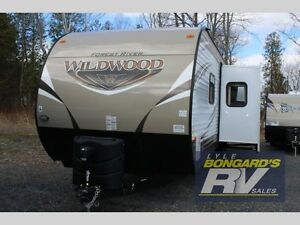 2016 Forest River RV Wildwood 31BKIS