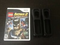 Lego Batman 2 Wii+2 rubber cases wii controller (NEGOTIABLE)