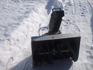 snowblower bucket
