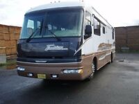 Fleetwood American Tradition 37 pieds (pusher) Diesel 1996