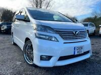 FRESH IMPORT 2008 08 PLATE TOYOTA VELLFIRE 3.5 V6 VVTI PETROL AUCTION GRADE 4