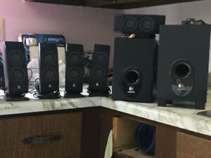 Lap Top/Desk Top speaker system for sale