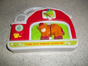 Leapfrog Fridge Farm Animal Magnet PickUp In Marmora Belleville Belleville Area image 2