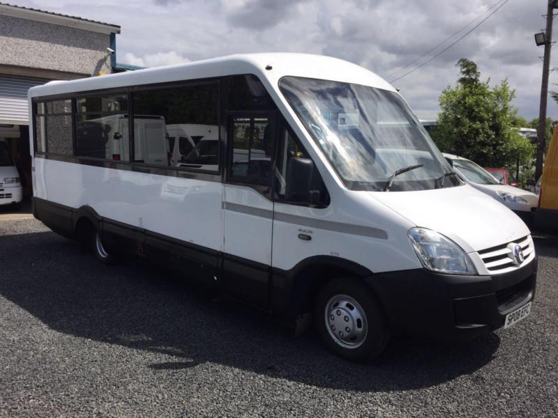 IRIS.iveco BUS Mellor body 15 seater automatic ex council