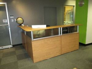 Modern Reception area console