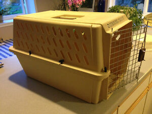 Two Newer Pet or livestock Kennels, Carriers, Crates for sale