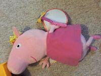 Large peppa pig teddy
