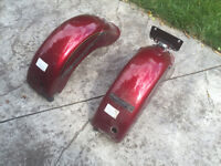 Two rear fenders for a Vulcan 800 or a rat rod