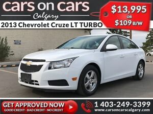 2013 Chevrolet Cruze LT TURBO w/Leather, BlueTooth, USB Connect