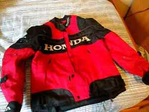 New Motorcycle jacket with liner large