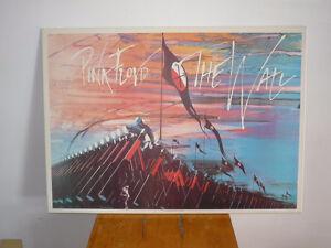 laminé de PINK FLOYD The Wall 25'' x 35''