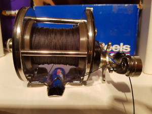 "Penn Reel and Shakespeare 1.50 metre fishing rod ""MUSKY"""
