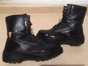 Men's Geronimo Steel Toe Work Boots Size 8