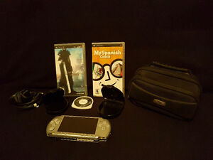 PSP SYSTEM AND FINAL FANTASY + MORE! GREAT SHAPE!
