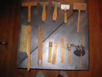 AUTHENTIC PROFESSIONAL WOOL WORKING TOOLS