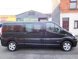 Renault Trafic LWB 6 seat factory fitted crew cab with sat nav F/S/H (27)