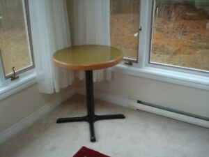 Bar Height Steel Table