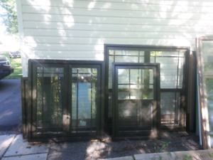 6 New brown vinyl windows $1200 package deal  Truro