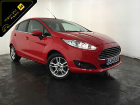 2015 FORD FIESTA ZETEC 5 DOOR HATCHBACK SERVICE HISTORY FINANCE PX WELCOME