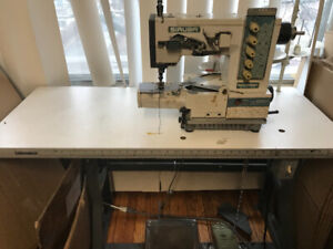 Coverstitch sewing machine