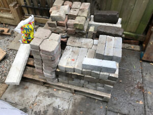 FREE patio stones for pick-up