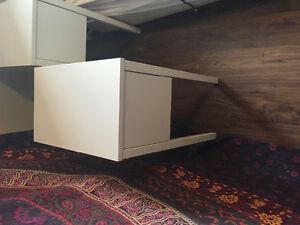 White IKEA nightstand