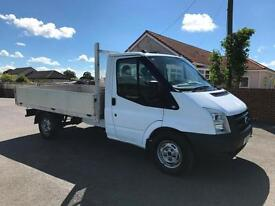 Ford Transit 2.2TDCi 115PS T350 MWB 10ft 6 DROPSIDE 1 CO OWNER TESTED NO VAT!!!