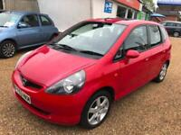 2003 HONDA JAZZ DSI SPORT Red Auto Petrol Low Miles 2 Keys Mot 03-2019 7 Stamps