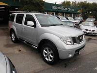 Nissan PATHFINDER 2-5 DIESEL 4X4 7 SEATER 69000MLS FULL MOT EXCELLENT