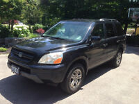 2003 Honda Pilot Loaded AWD - Certified & Etested