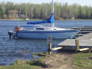 Sailboat and slip for sale at Sunshine Bay Yacht Club