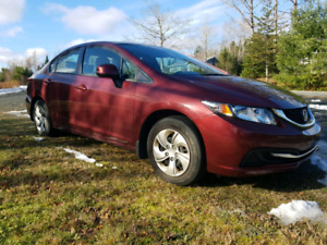 2013 Honda Civic LX w/ LOW kms!