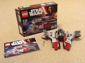 Star Wars Lego No 75135 (excellent condition)